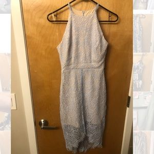 Light Blue Gianni Bini Lace Dress